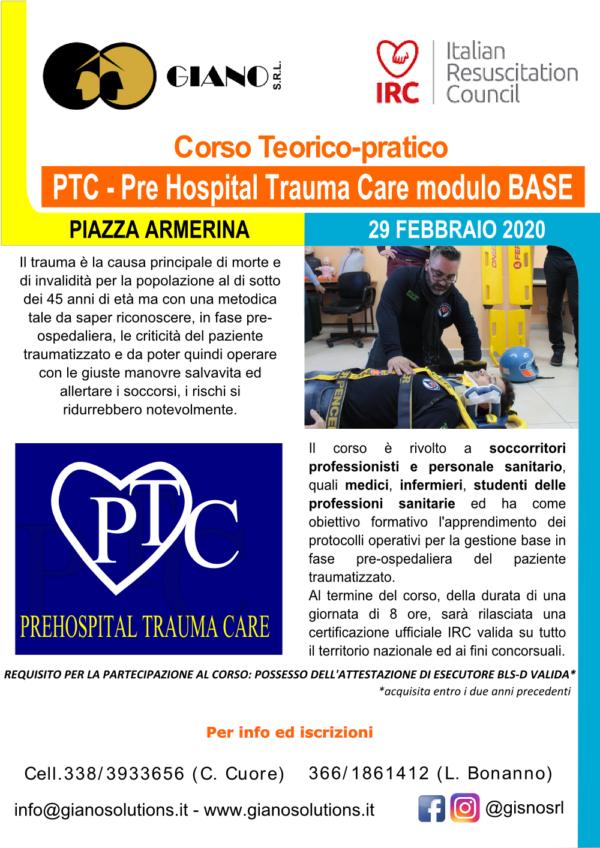 gianosrl-giano-CBFormazione-Corso-PTC Base-certificato-irc-CREDITI ECM-Piazza Armerina-Enna-italian-resuscitation-council