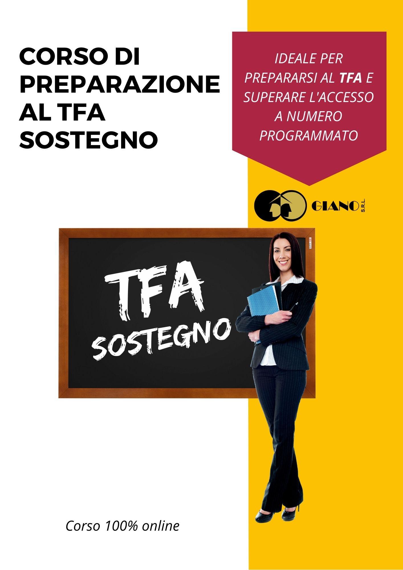 Corso di preparazione al TFA Sostegno